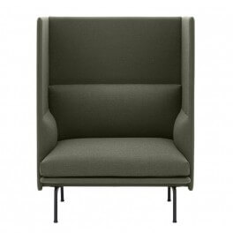 Outline Highback 1 Seater