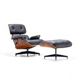 Eames® Chair and Ottoman